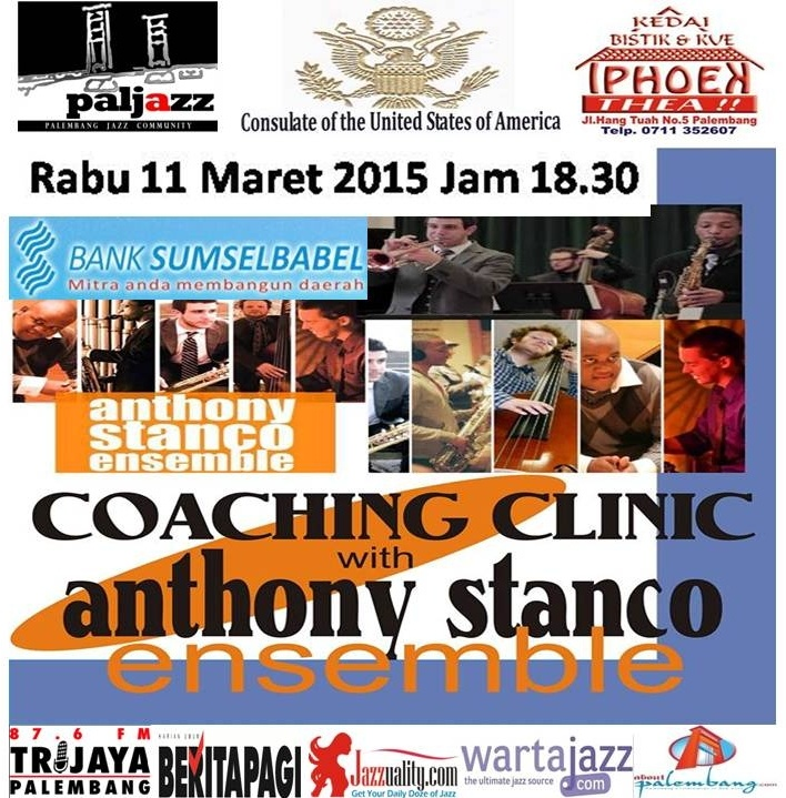 Photo of Palembang Jazz Community Coaching Clinic bersama Anthony Stanco Ensemble