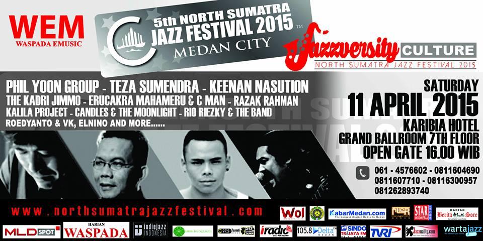 Photo of North Sumatra Jazz Festival 2015 2015 bertema Jazzversity Culture!