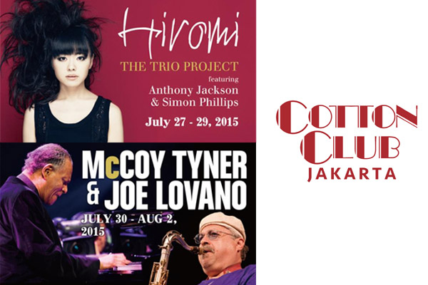Photo of Hiromi, Joe Lovano & McCoy Tyner tandai beroperasinya The Cotton Club Jakarta