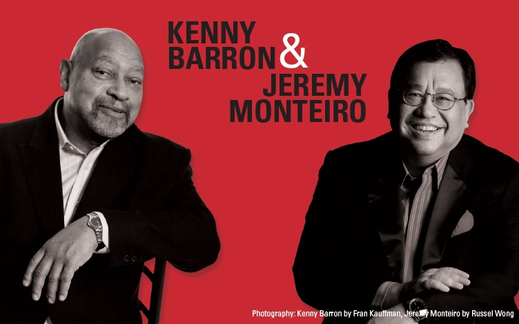 Photo of Kenny Barron & Jeremy Monteiro Piano Duo di Mosaic Music Series