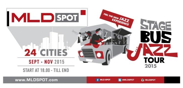 Photo of MLDSPOT STAGE BUS JAZZ TOUR : Nikmati Jazz dengan Cara Beda!