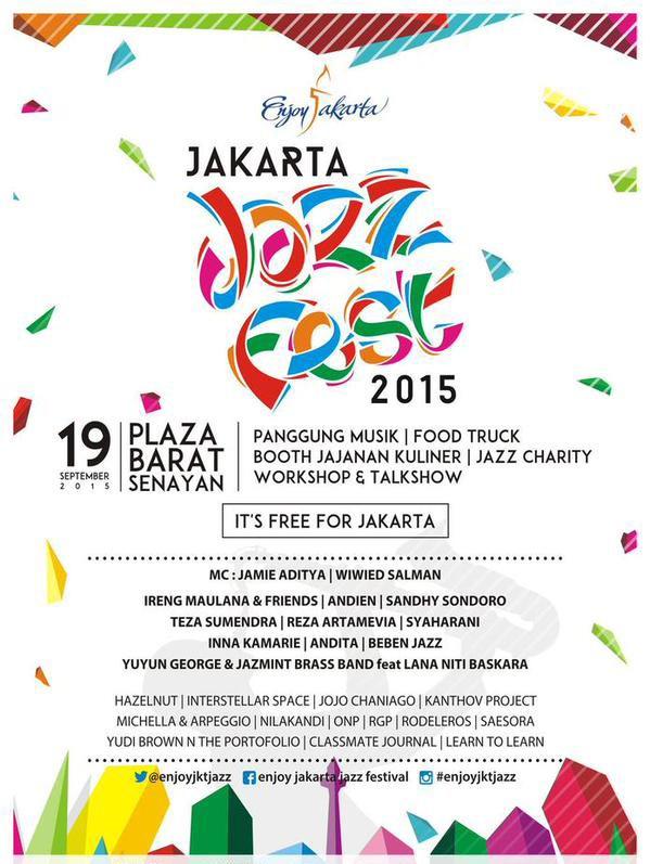 Enjoy Jakarta Jazz Festival