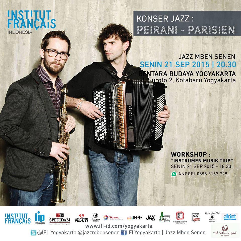 Photo of Konser Duo Peirani – Parisien dari Perancis Konser 5 Kota di Indonesia
