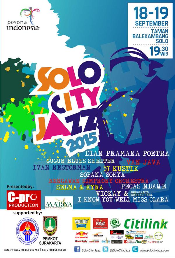 Photo of Solo City Jazz 2015, Perhelatan Yang Guyub, Akrab dan Menghibur