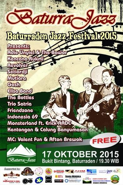 Photo of Baturraden Jazz Festival (Baturra Jazz) 2015 Digelar di tempat Wisata Baturraden
