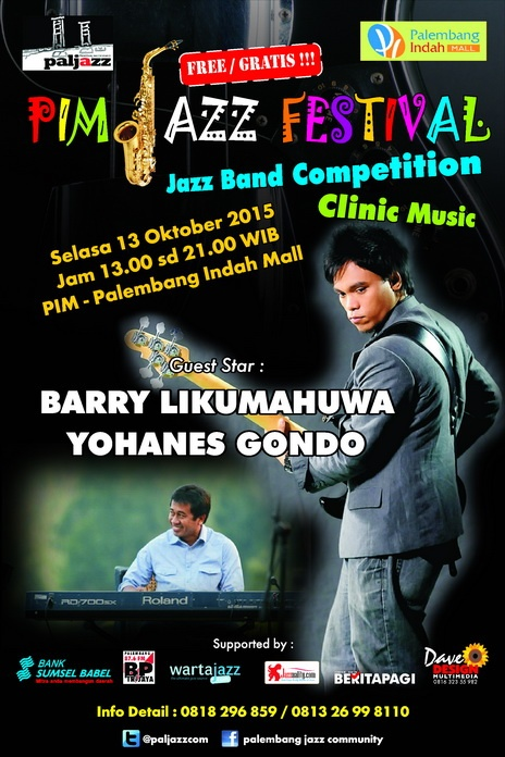 Photo of Palembang Jazz Community Gelar Band Jazz Competition & Clinic Music
