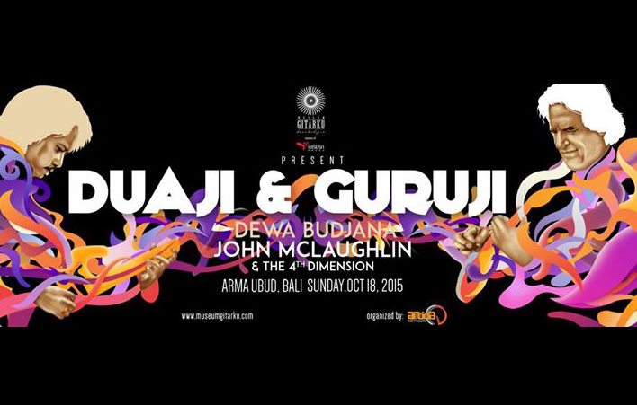Photo of Duaji & Guruji, Konser Para Maestro, John McLaughlin & The 4th Dimension, Dewa Budjana