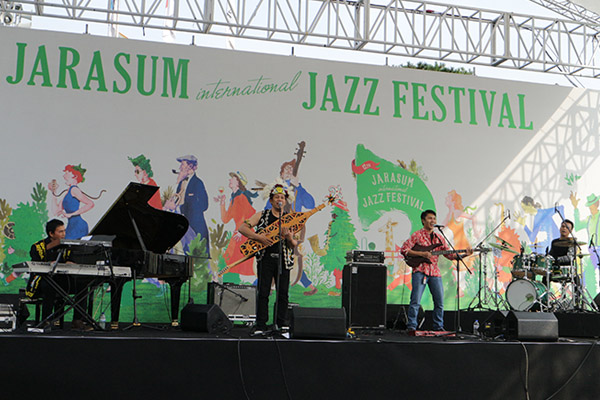 Photo of YK Samarinda pukau penonton Jarasum International Jazz Festival