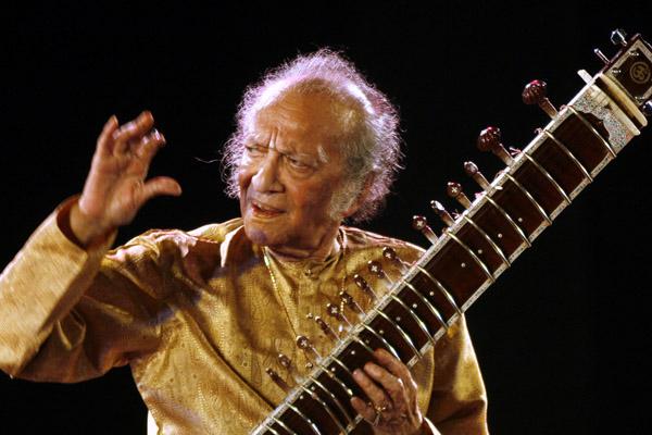 Photo of Maestro sitar India Ravi Shankar wafat