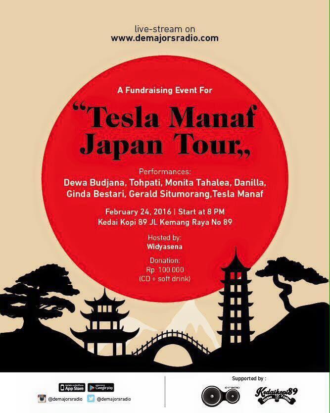 Photo of Musisi Jazz Indonesia bantu Konser Tesla Manaf, kumpulkan dana untuk tour ke Jepang