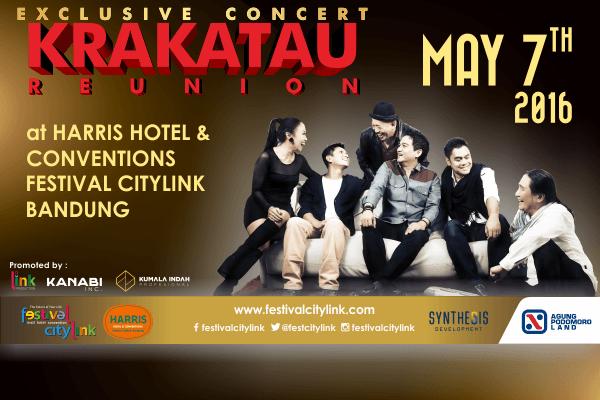 Photo of Konser Ekslusif Krakatau Reunion bakal digelar di Festival Citylink Bandung