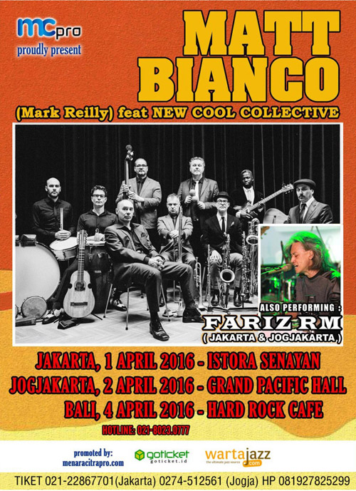 Matt Bianco with New Cool Collective feat Fariz RM