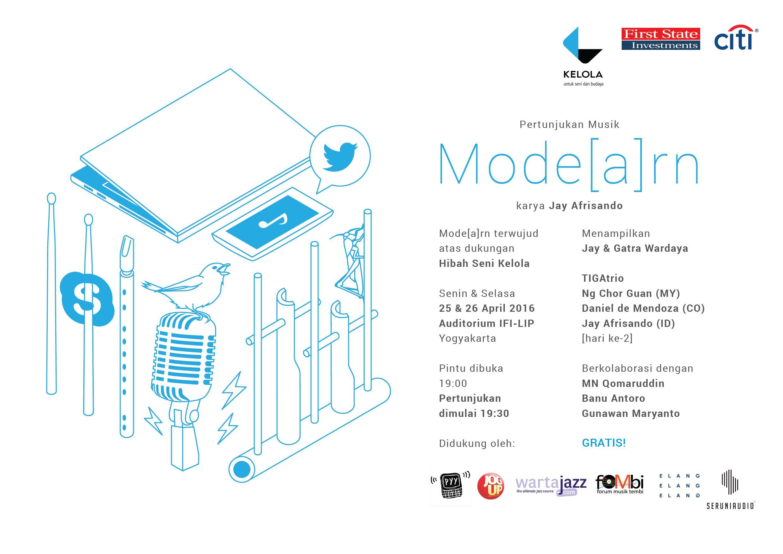 Photo of Mode[a]rn, Sebuah Pertunjukan Musik dari Jay Afrisando