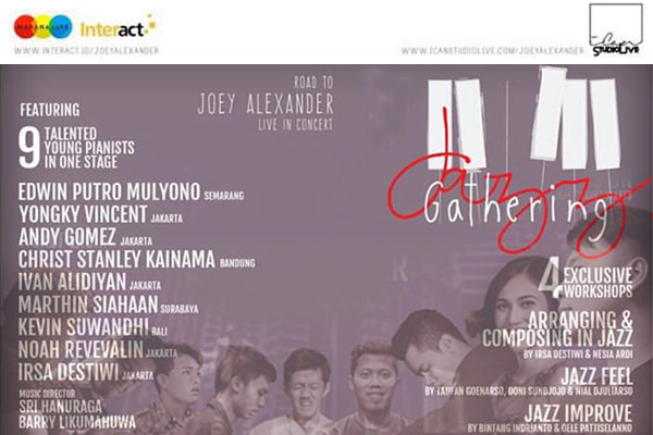 Photo of Jazz Gathering – Road To Joey Alexander Live In Concert hadirkan 9 pianis muda