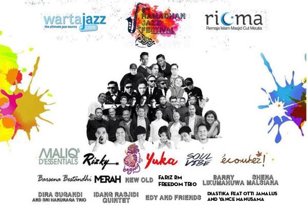 Photo of Edisi ke enam Ramadhan Jazz Festival kembali di gelar di Plaza Masjid Cut Meutia