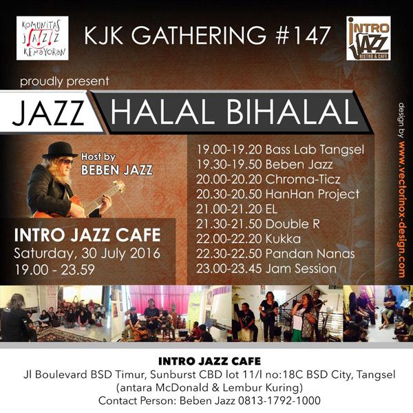 Photo of Jazz Halal Bihalal ala Komunitas Jazz Kemayoran (Gathering ke-147)