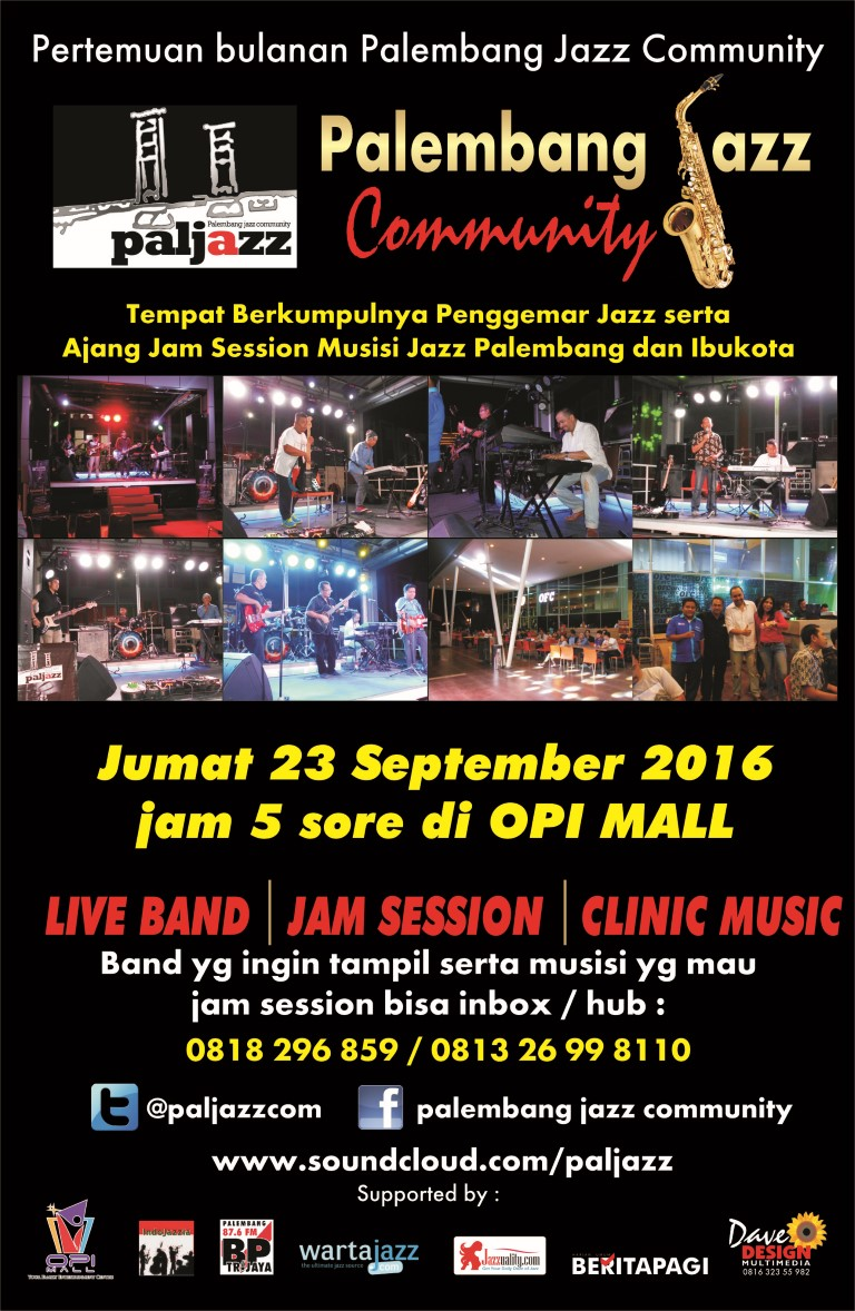 Photo of Kolaborasi Jazz dan Blues serta Beat Box Hadir di Pertemuan PalJazz