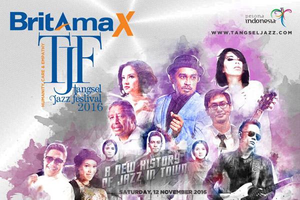 Photo of Tangsel Jazz Festival 2016 tampilkan Fariz RM, Iga Mawarni hingga Tiyo Alibasjah