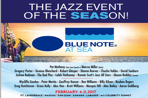 Photo of Blue Note at Sea – Konser paling hip ditengah laut