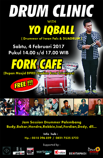 Photo of Drum Clinic With Yo Iqball