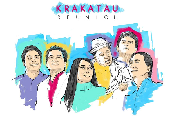 Photo of Krakatau Reunion bakal tampil di Rolling Stone