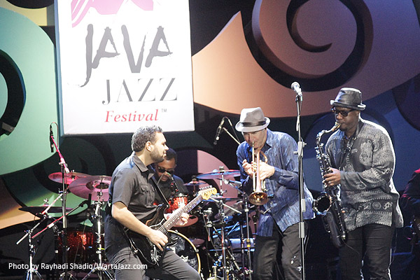 Photo of Dansa Bersama Rick Braun di Java Jazz Festival 2017