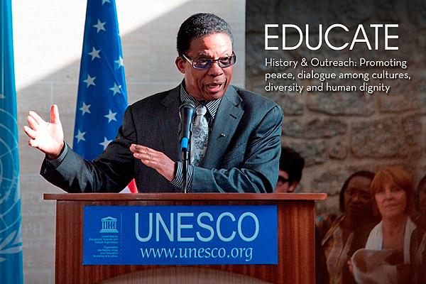 Herbie Hancock, UNESCO Goodwill Ambassador for Intercultural Dialogue