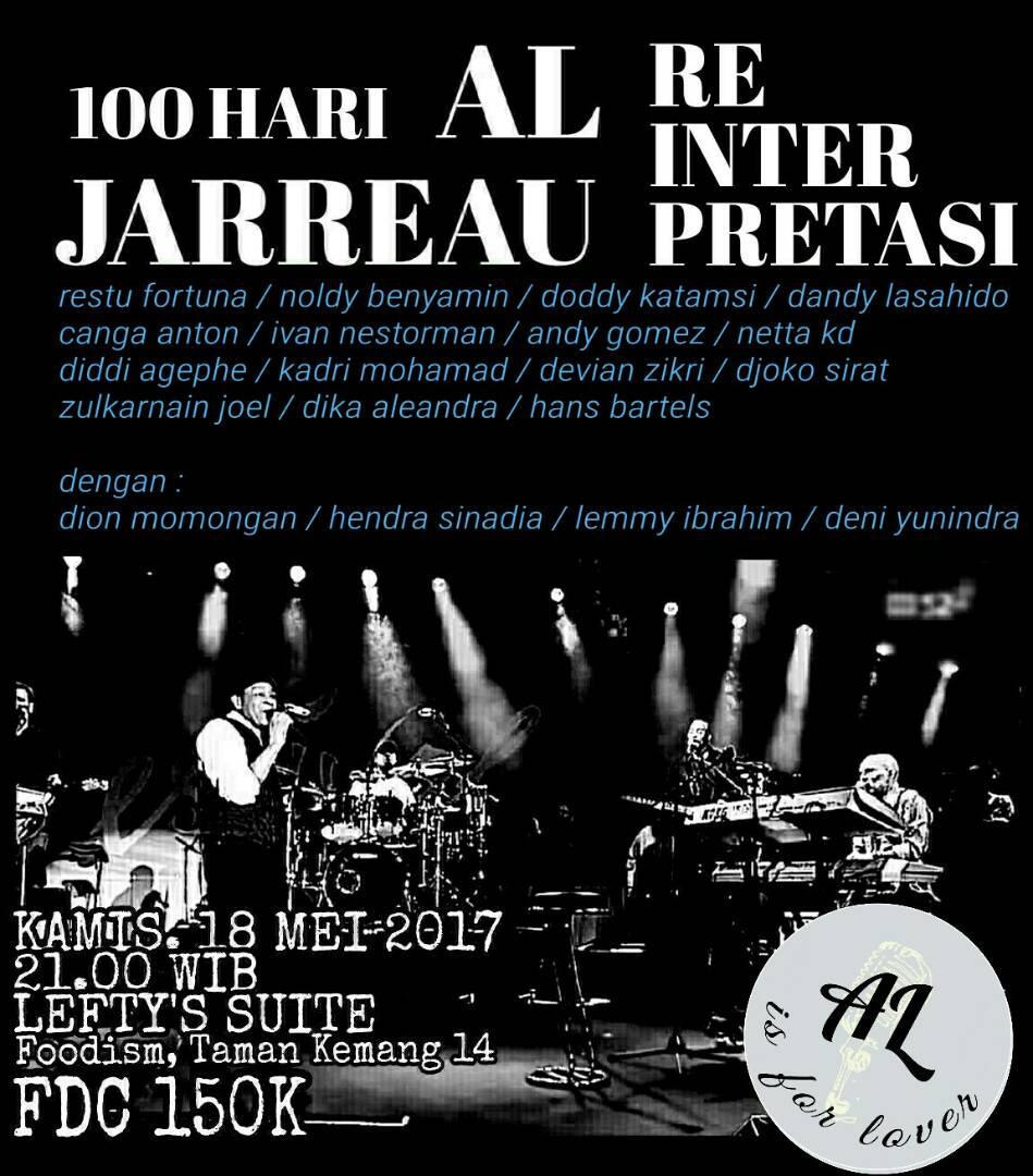 Photo of 100 Hari AL JARREAU, Reinterpretasi