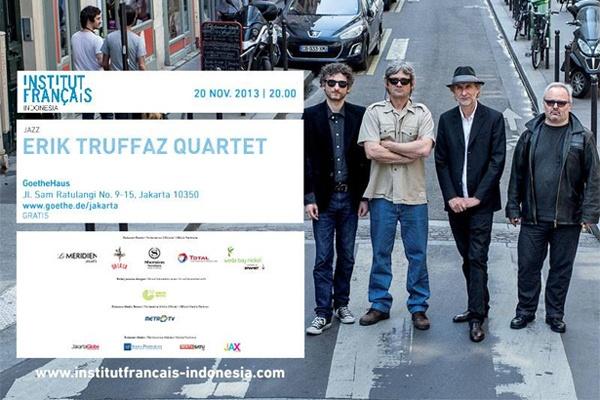 Photo of Erik Truffaz tour Indonesia