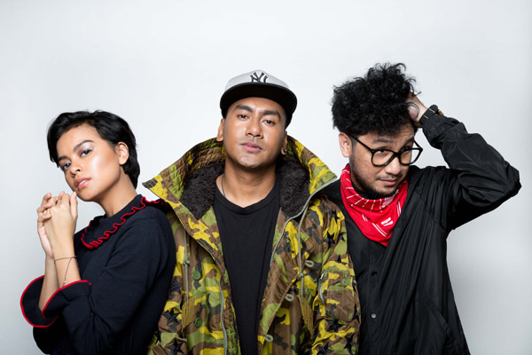 Kunto Aji, Eva Celia dan Jordy Waelauruw
