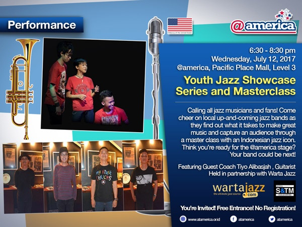 Photo of Youth Jazz Showcase Series edisi Juli hadirkan Satria and the Monster, Live at Wonderland plus gitaris Tiyo Alibasjah