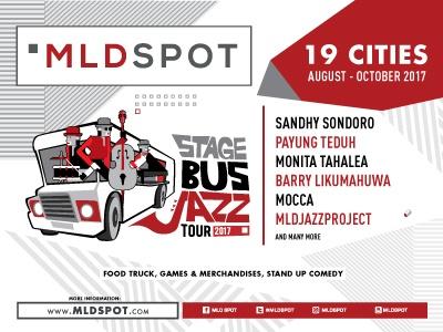 Photo of MLD SPOT STAGE BUS JAZZ TOUR 2017 kembali hadir di 19 kota Jawa, Bali, Sumatera, dan Lombok!