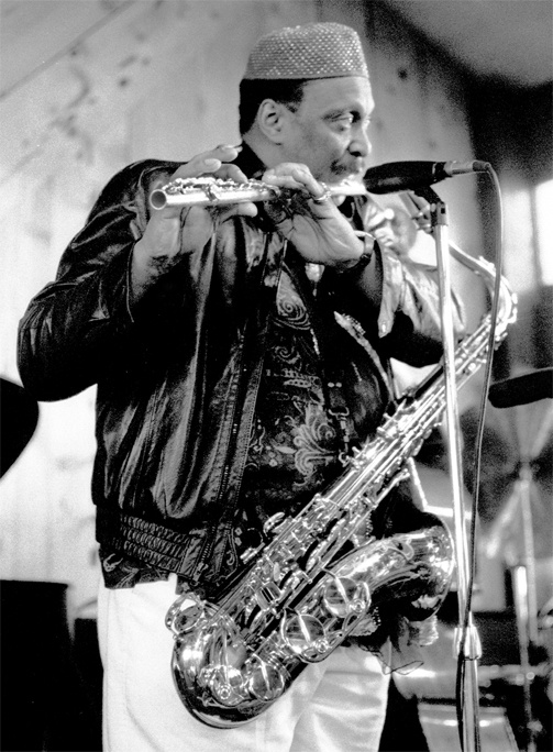 George Adams in Half Moon Bay, California with the George Adams-Don Pullen Quartet, including Cameron Brown and Dannie Richmond, 3/13/88