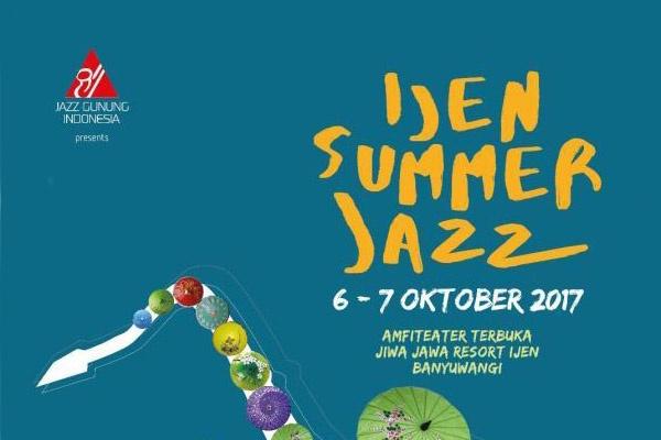 Photo of Ijen Summer Jazz 2017 hadirkan Sri Hanuraga, Bintang Indrianto dan lainnya