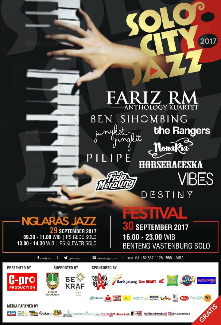 Photo of Solo City Jazz 2017 Hadirkan Fariz RM Anthology