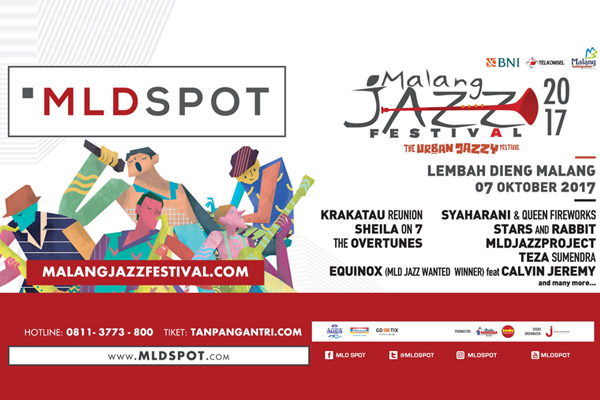 Photo of Malang Jazz Festival 2017 digelar di kawasan Wisata Lembah Dieng Malang
