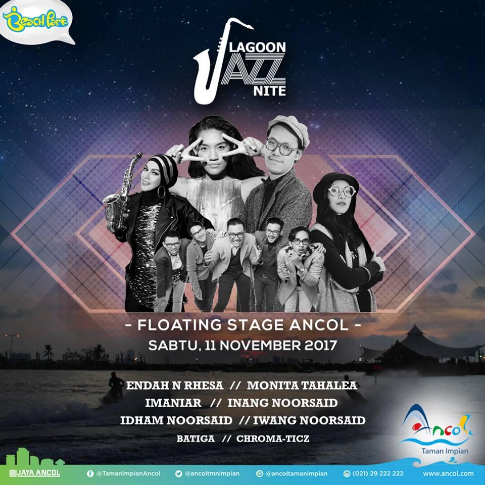 Photo of Ancol Lagoon Jazz Nite tampilkan Endah N Rhesa, Imaniar dan Noorsaid bersaudara