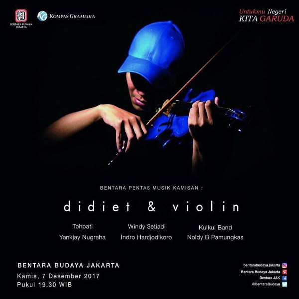 Photo of Bentara Pentas Musik Kamisan Didiet & Violin