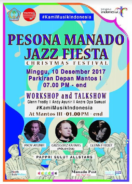 Photo of Pesona Manado Jazz Fiesta 2017: Konser Jazz Bertaraf Internasional