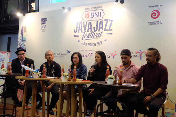 Photo of Jakarta International BNI Java Jazz Festival 2018 usung Celebrate Jazz in Diversity