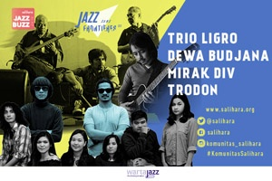 Photo of Jazz Buzz 2018 hadirkan Ligro, Trodon, Mirak Div dan Dewa Budjana