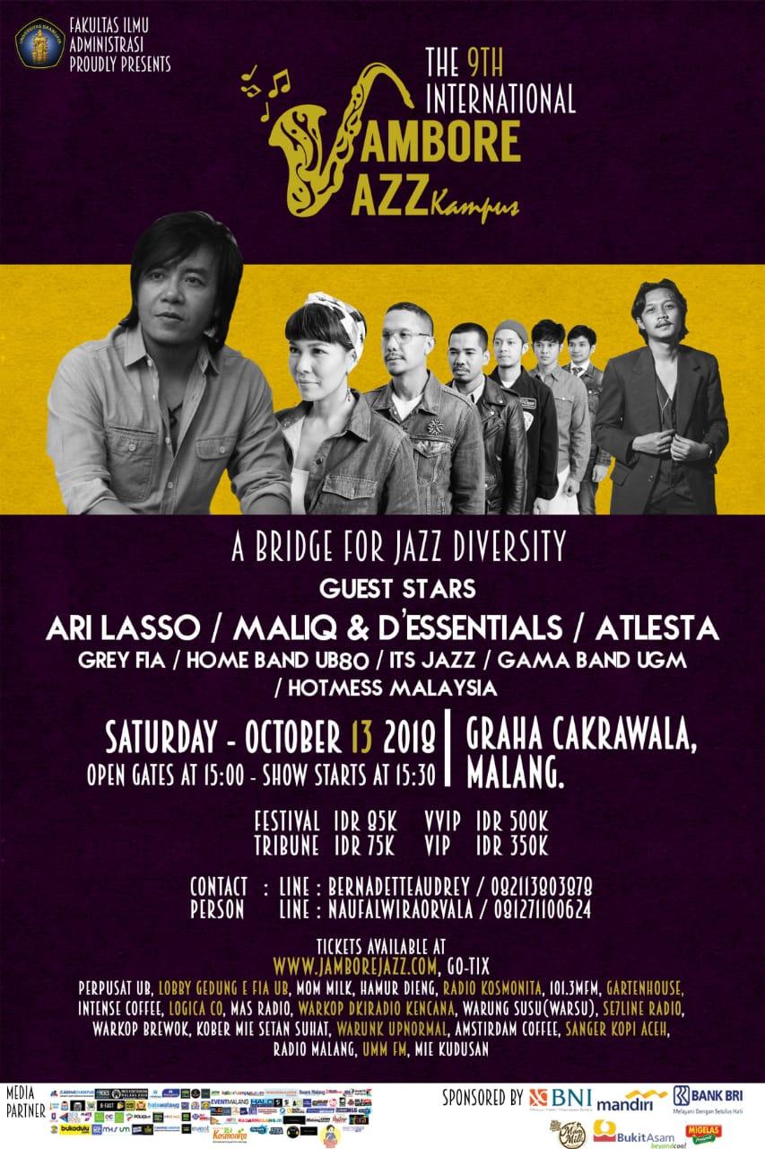Photo of Jambore Jazz Kampus Malang akan digelar 13 Oktober 2018