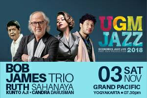 Photo of Bob James Ramaikan UGM Jazz 2018