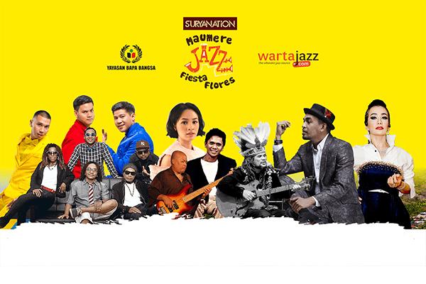 Photo of Suryanation Maumere Jazz Fiesta Flores 2018 hadirkan Andien, RAN, Glenn Fredly, Reza Artamevia, Komodo dan Papua Original