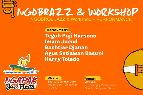 Photo of Ngobrazz Jazz di Slawi Kabupaten Tegal dalam rangka Ngapak Jazz Fiesta