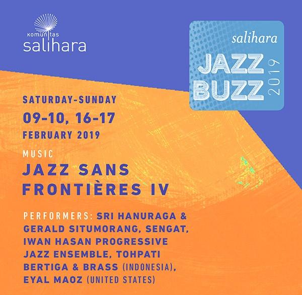 Photo of Salihara Jazz Buzz 2019 hadirkan Tesla, Gerald, Hanuraga, Tohpati hingga Eyal Maoz