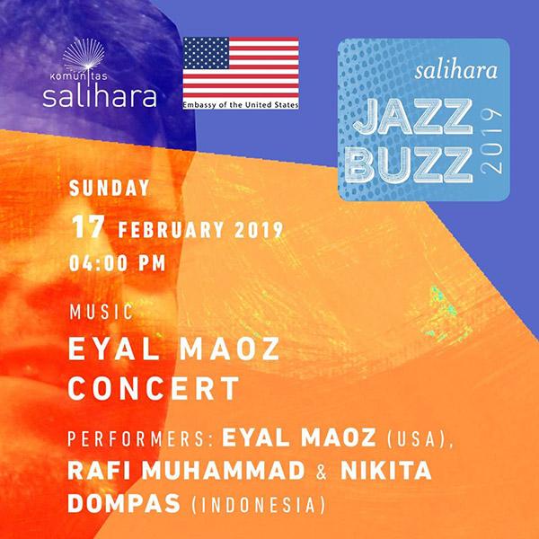 Photo of Salihara Jazz Buzz 2019 persembahkan Eyal Maoz bersama Nikita Dompas dan Rafi Muhammad