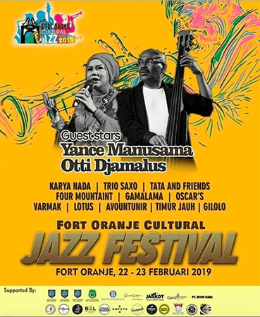 Photo of Fort Oranje Culture Jazz Festival 2019 digelar di Fort Oranje Ternate