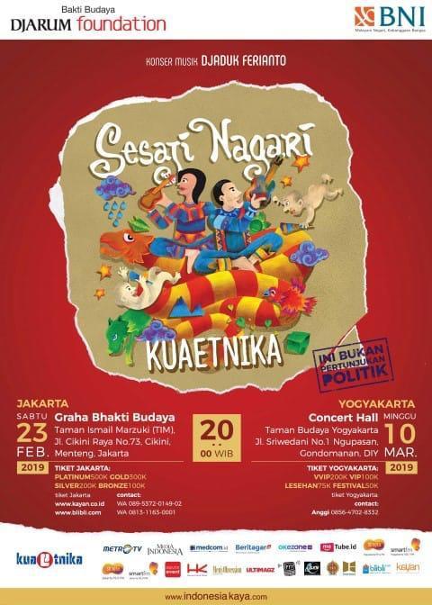 Photo of Komunitas Seni Kuaetnika Persembahkan Konser Sesaji Nagari