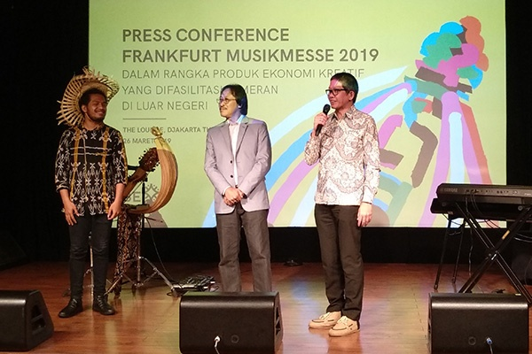 Photo of Medco Energi dukung Purwacaraka tampil di paviliun Indonesia di Frankfurt Musik Messe 2019